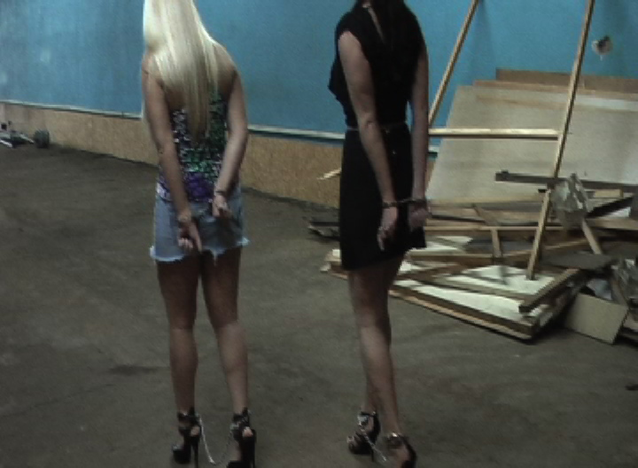 Anna Belle and Christina: Busted Hookers #1: gotcuffs.com/content/?cat=34